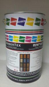 דנברטקס מגורען בגוונים לקירות חוץ דנבר צבעים