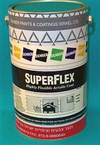 סופרפלקס ספורט אקרילי לציפוי מגרשי ספורט דנבר צבעים