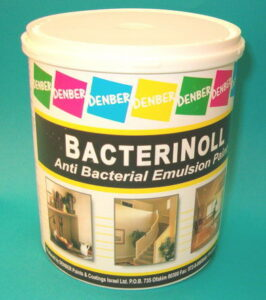 בקטרינול צבע אנטיבקטריאלי מונע עובש דנבר צבעים