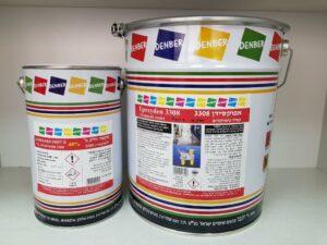 אפוקסי אפוקסידן 3308 אלסטיק אפוקסי/פוליאוריטן עמיד-לכימיקלים דנבר צבעים