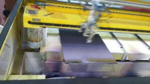 גלס-קואט אקווה-פלקס XK90 צבע מים לזכוכית חד רכיבי למכונה עם תנור או ייבוש אוויר
