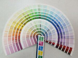 מניפת גוונים לצבעי קיר www.denber-paints.co.il