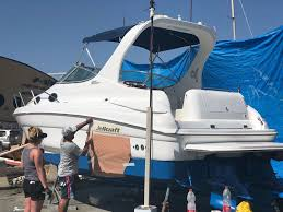 סירה פיבר צבועה בצבעי דנבר www.denber-paints.co.il