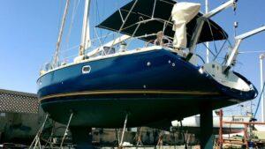 סירה אלומיניום צבועה בצבעי דנבר www.denber-paints.co.il