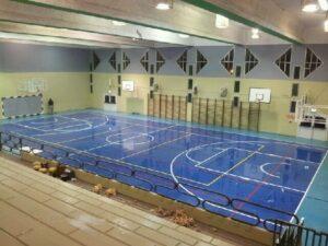 покрытие пола спортивного зала